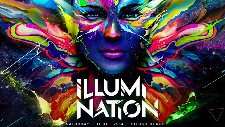 Asia's first glow-in-the-dark paint party, ILLUMI NATION