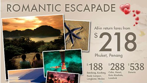 Silk Air Romantic Getaway